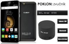 Cubot mobilni telefon Note S, dual sim, crni + poklon: BT zvučnik Blow