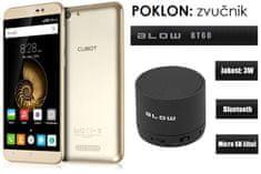 Cubot mobilni telefon Note S dual sim, zlatni + + poklon: BT zvučnik Blow