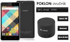 Cubot mobilni telefon Rainbow DualSim, crni + poklon: BT zvučnik Blow