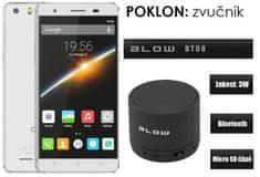 Cubot GSM telefon X16S LTE DualSim, bijeli + poklon: BT zvučnik Blow