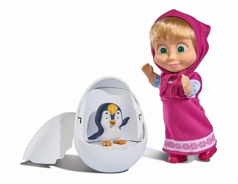 Simba Máša a medvěd - Máša a tučňák ve vajíčku