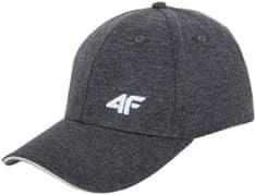4F czapka z daszkiem CAM001 szary melanż