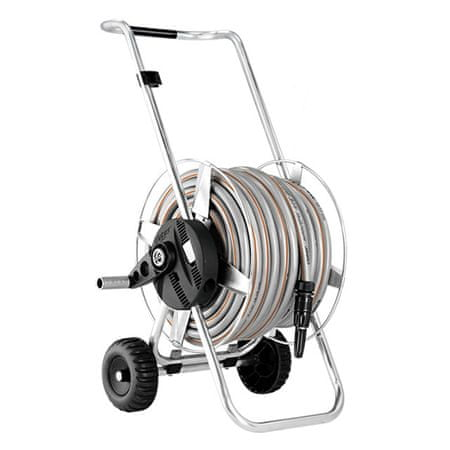 Claber voziček za cev Metal Compact Pronto 25 (8906)