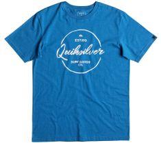 Quiksilver moška majica Silvered, modra
