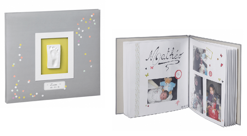 BabyArt Fotoalbum My Creative Photo Album Grey