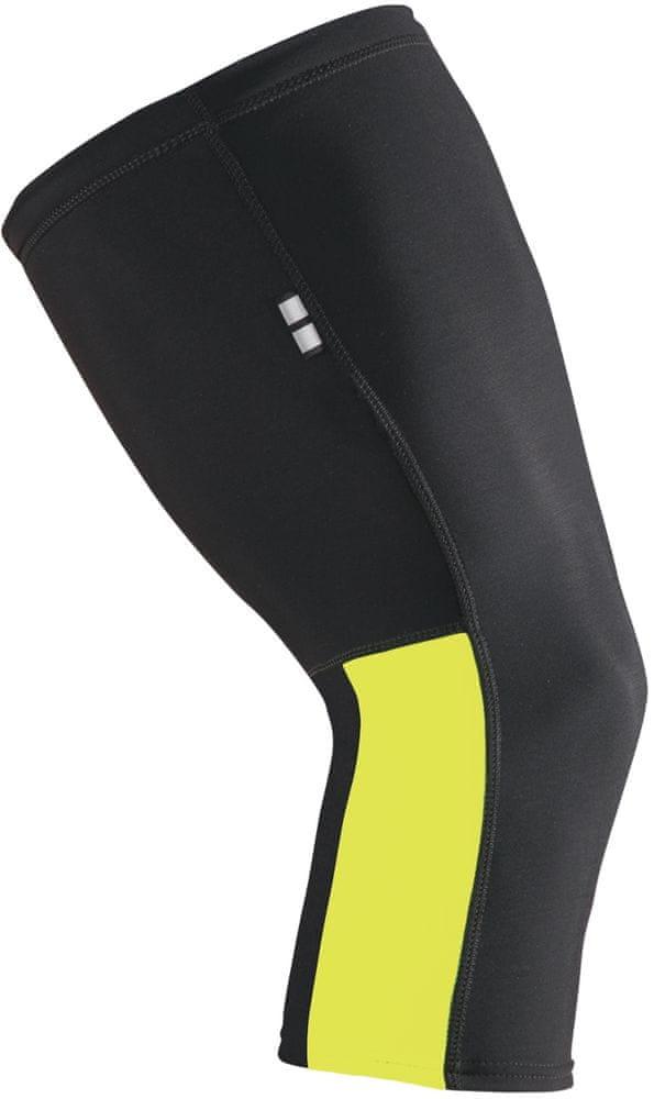 Etape Návleky na kolena Černá/Žlutá Fluo XL