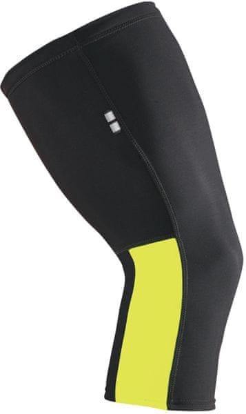 Etape Návleky na kolena Černá/Žlutá Fluo M