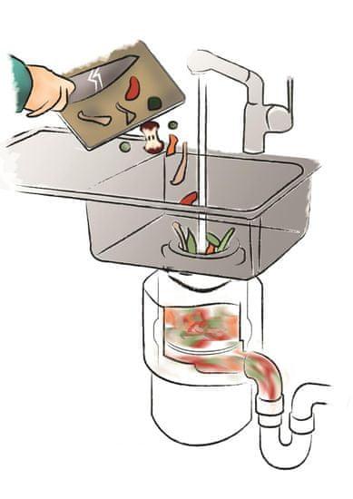 Elleci odstranjevalec kuhinjskih odpadkov TDM 00500