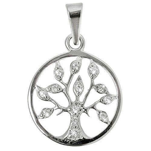 Troli Stříbrný přívěsek Strom života s krystaly 446 001 00356 04 stříbro 925/1000