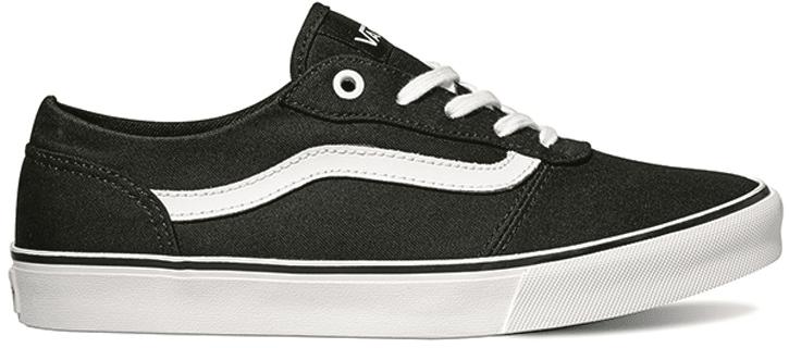 Vans Milton (Canvas) Black/White 36