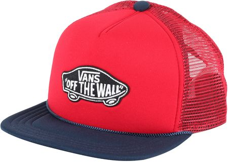 Vans kapa s šiltom Classic Patch Trucker Boys Racing, rdeča