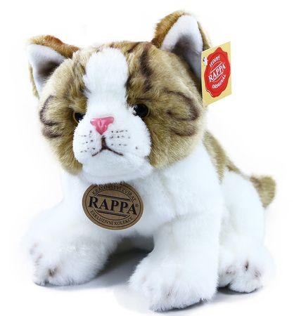 Rappa Pluszowa kotka brązowo-biała,siedząca 18