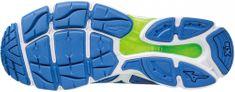 Mizuno tekaški copati Wave Ultima 8, modri/beli/zeleni