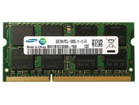 Samsung pomnilnik 8GB DDR3L 1600Mhz, SODIMM, CL15, 1.35V