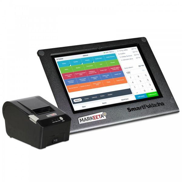 Markeeta SmartPokladna + tiskárna + SW Pro na 3 měsíce ZDARMA (SMP-02)