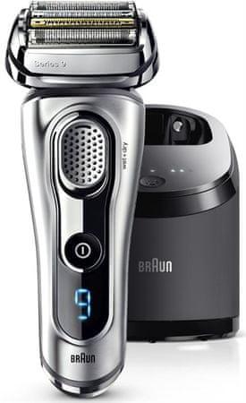 Braun brivnik Series 9-9290 cc Clean & Charge Wet & Dry, srebrn