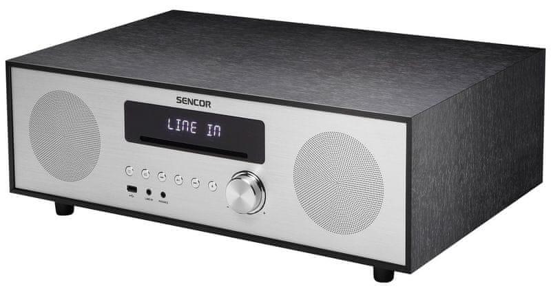 Sencor SSS 801, černá/stříbrná