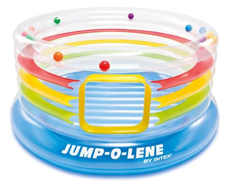 Intex trampolin s kroglicami