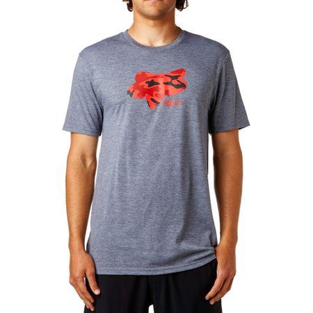 FOX moška majica Stenciled Tech L siva