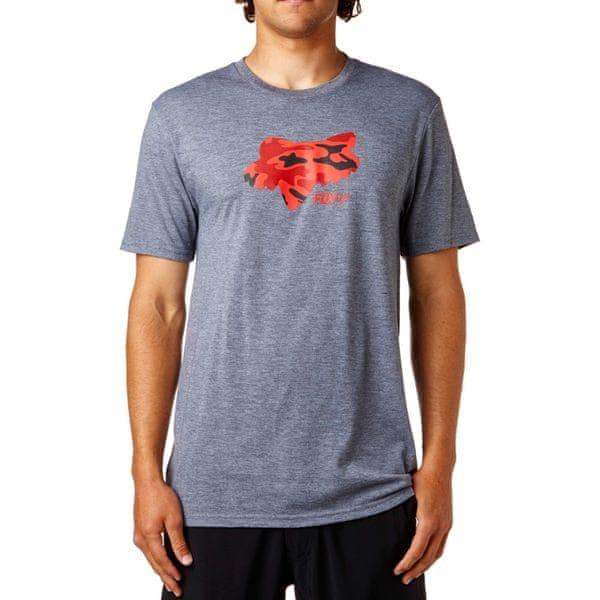 FOX pánské tričko Stenciled Tech L šedá