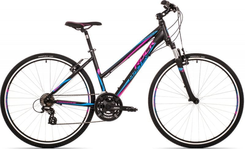 Rock Machine Crossride 100 lady black/pink/blue 2017 17""