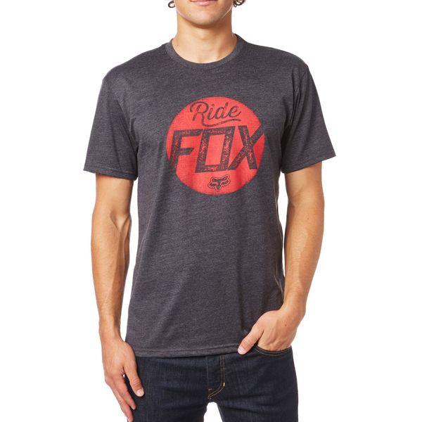 FOX pánské tričko Turnstile S černá