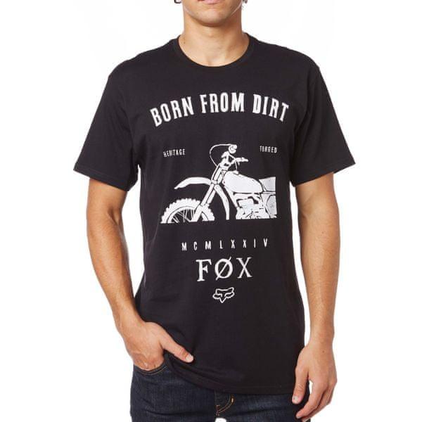 FOX pánské tričko Wicken S černá