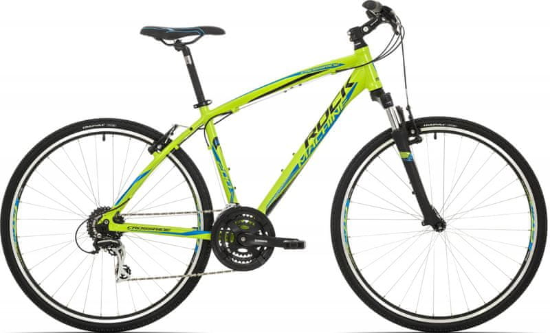 Rock Machine Crossride 200 radioactive yellow/black/blue 2017 18""