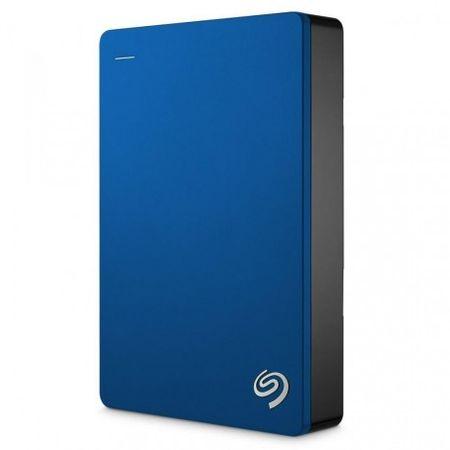 Seagate zunanji trdi disk 5TB 2,5 USB 3.0 Backup Plus, moder (STDR5000202)