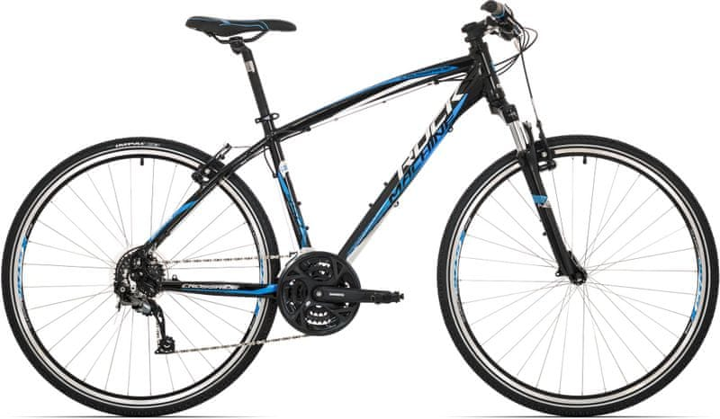 Rock Machine Crossride 350 black/white/blue 2017 16,5""
