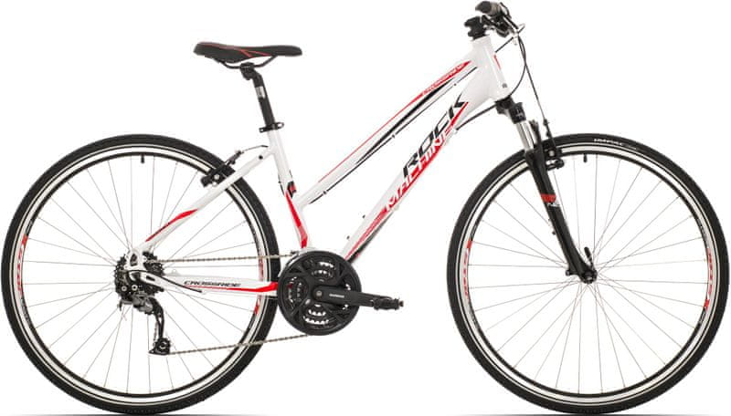 Rock Machine Crossride 350 lady white/black/red 2017 17""