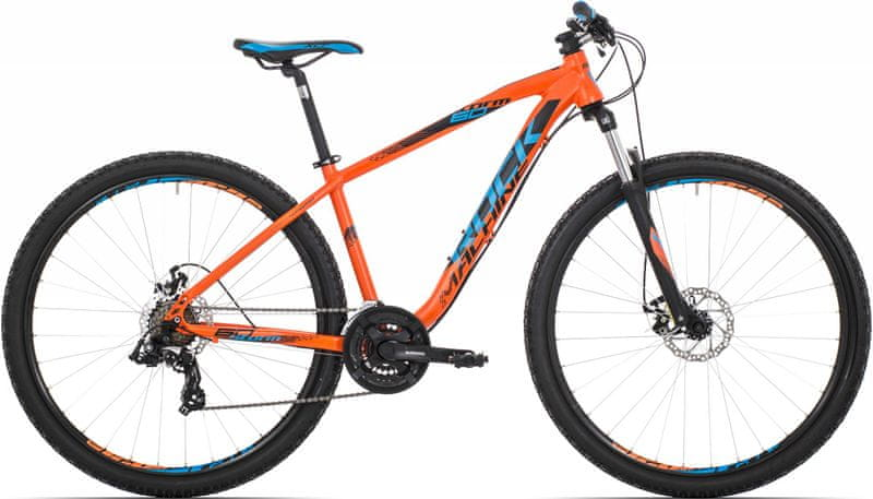 Rock Machine 29er Storm 60 orange/blue/black 2017 19""