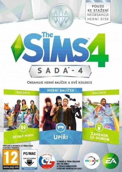 EA Games The Sims 4 Bundle Pack 4 / PC