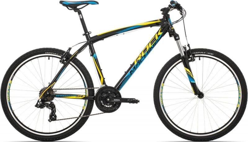 "Rock Machine 26"" Manhattan 50 black/yellow/blue 2017 16,5"""
