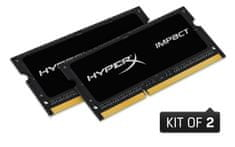 Kingston pomnilnik (RAM) HyperX Impact Kit 16 GB (2x8GB), SODIMM, PC4-21300, CL15