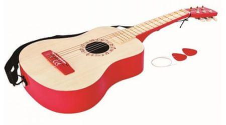 Hape kitara, rdeča