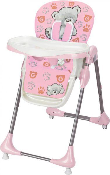 G-mini Jídelní židle Melisa Medvídek, růžová