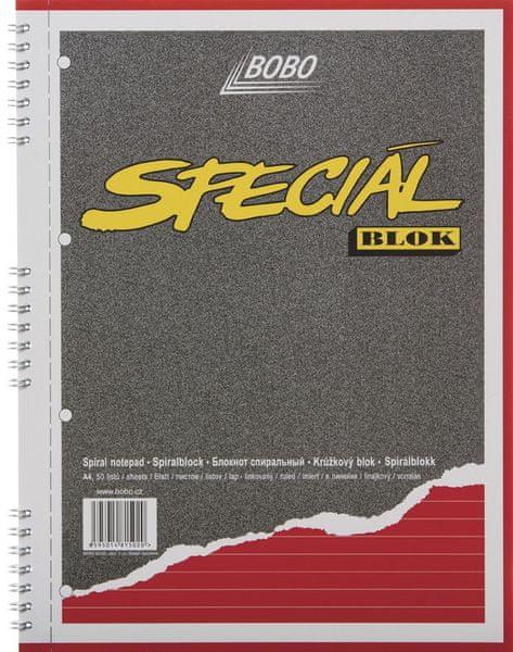 Blok speciál BOBO A4 linkovaný
