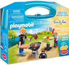 Playmobil 5649 Prenosna škatla - Vrtni žar
