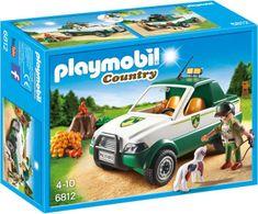 Playmobil 6812 Hajný s pick-upem
