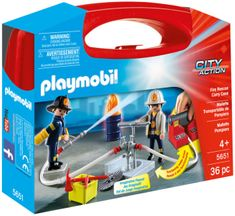Playmobil 5651 Přenosný box - Hasiči