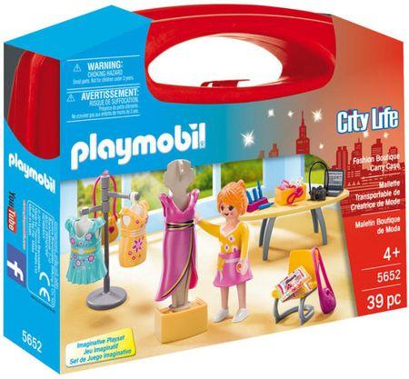 Playmobil 5652 Prenosný box - Predavačka v butiku