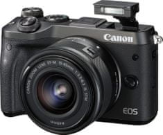 Canon fotoaparat EOS M6 15-45IS