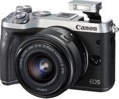 CANON EOS M6 + 15-45 Fényképező