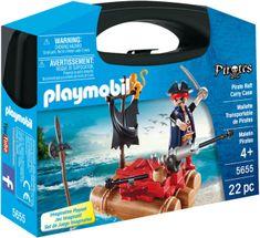 Playmobil 5655 Kovček s piratskim raftom
