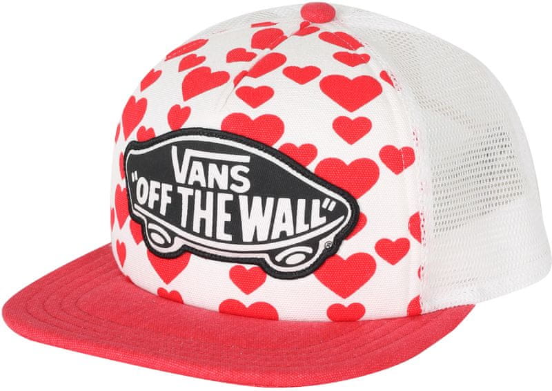 Vans Beach Girl Trucker Hat Hearts