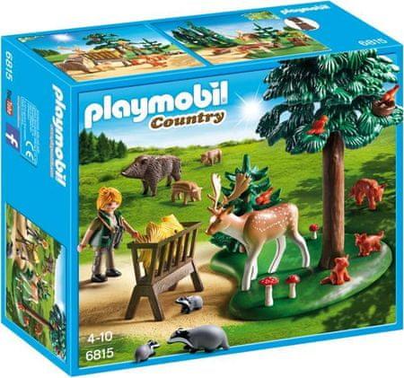 Playmobil Polanka z karmą dla zwierząt 6815