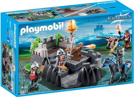 Playmobil W skład kompletu wchodzą **figurki rycerzy herbu Smoka i Orła**, a także **twierdza** i mnóstwo **akcesoriów**. Tego typu zabawki doskonale rozwijają dziecięcą wyobraźnię, a także kreatywność.