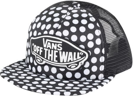 Vans Beach Girl Trucker Hat Oversize Dots
