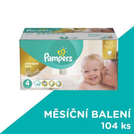 Pampers Pleny PremiumCare 4 Maxi - 104 ks